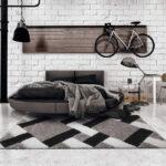 Professional Calm grid grey szőnyeg-