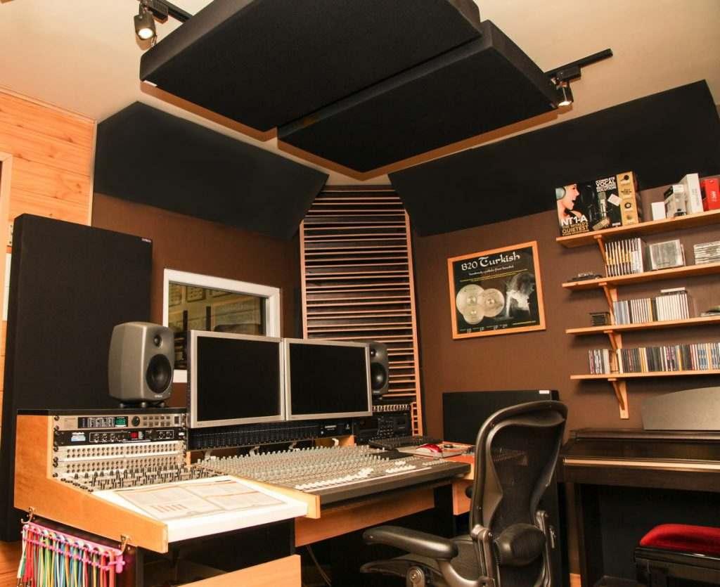 stúdió kialakítása
