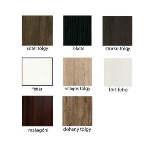 akusztikai panel diffúzor előlap színei