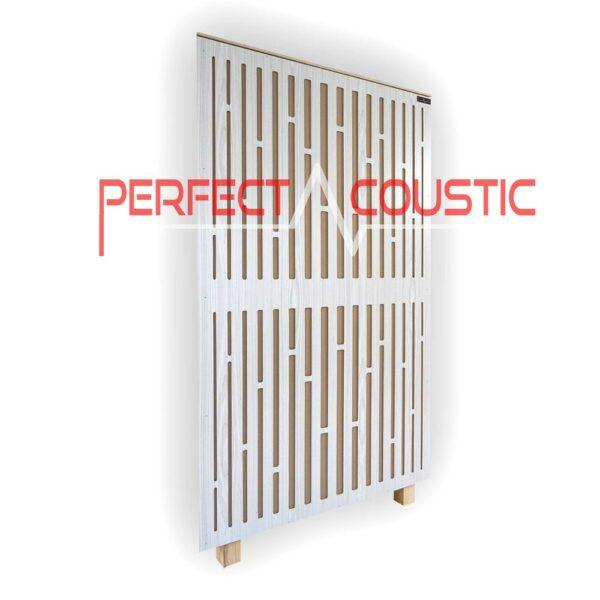 diffúzor elolapos akusztikai panel tört feher színben (1)