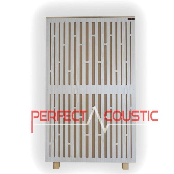 diffúzor elolapos akusztikai panel tört feher színben (2)