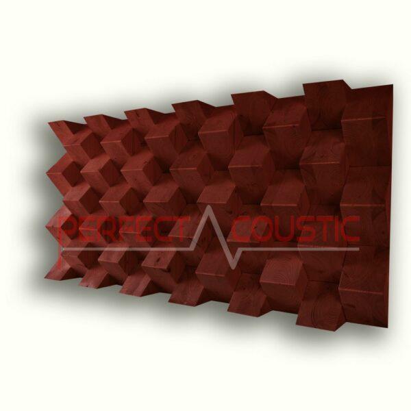 111 piramis akusztikai diffúzor.