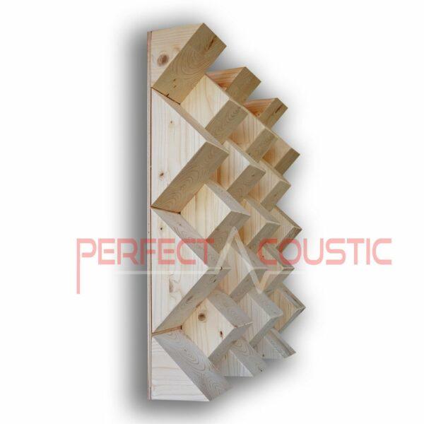 111 piramis akusztikai diffúzor.....