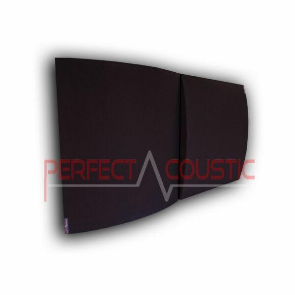 3d akusztikai panel fekete