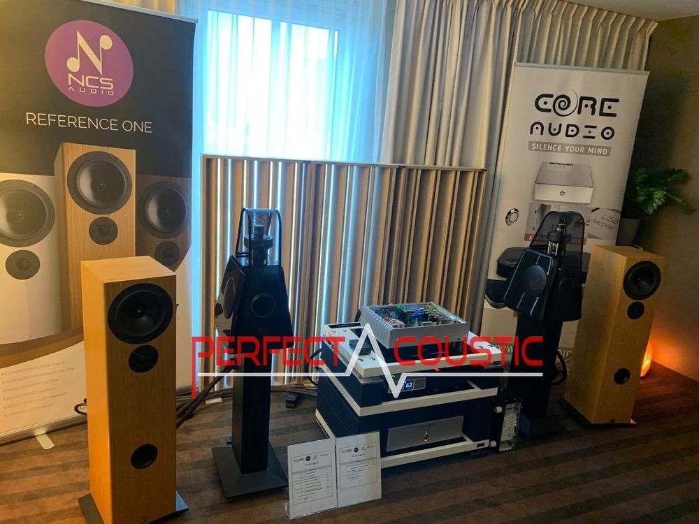 Core Audio kiállítása Perfect Acoustic diffúzorokkal, akusztikai panelekk