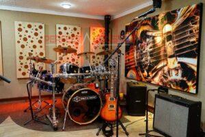gitáros akusztikai panel