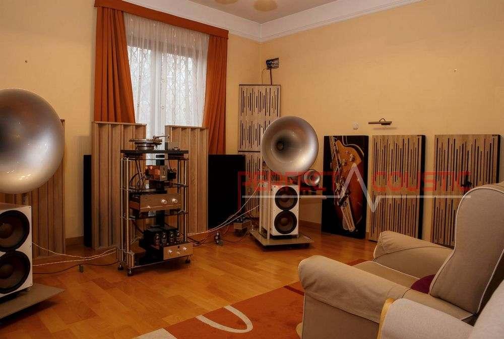 Akusztikai diffúzorok-akusztikai panel