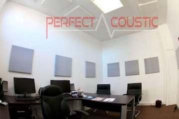 A méltatlanul elhanyagolt iroda akusztika.