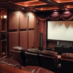 mozi akusztikus függöny