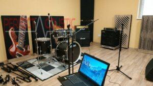 stúdió akusztika javítás
