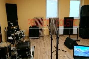 stúdió akusztika javítás...