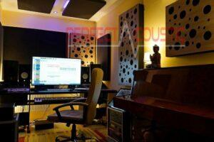 szoba akusztika kezelés méréssel