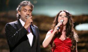Andrea Bocelli, Sarah Brigthmann