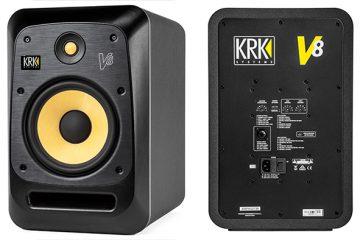 KRK Rokit V8 S4 aktív stúdió monitort