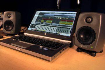 Genelec 8010A stúdió monitorok