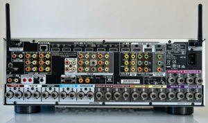 Denon X6700 csatlakozók