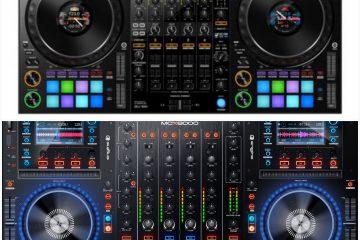 PIONEER DDJ VS DENON DJMCX8000