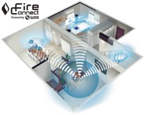 Fire Connect többszobás rendszer