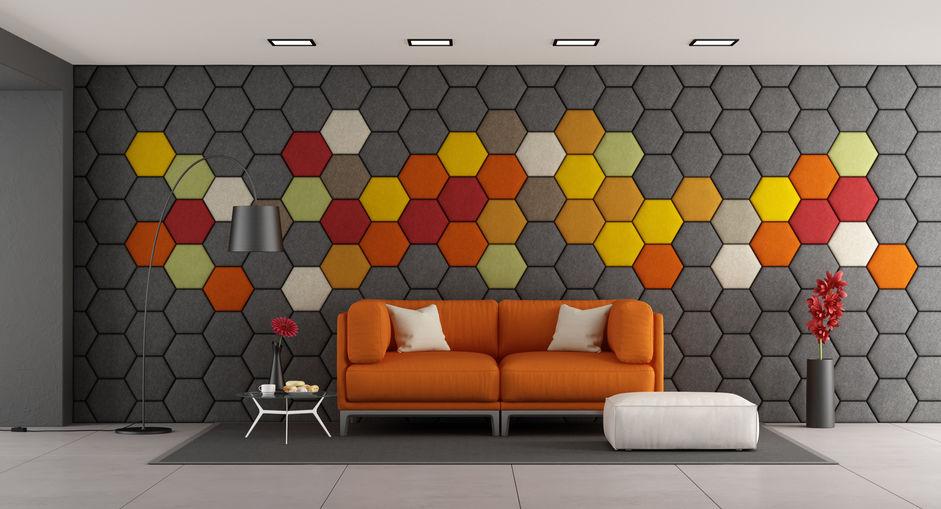 6 szőg panelek a falon