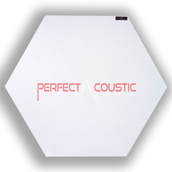 6 szögű panel-fehér