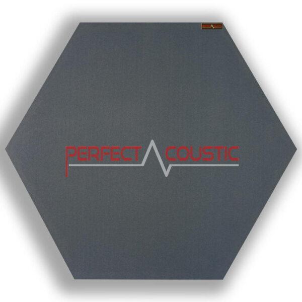 6 szögű panel-sötétszürke