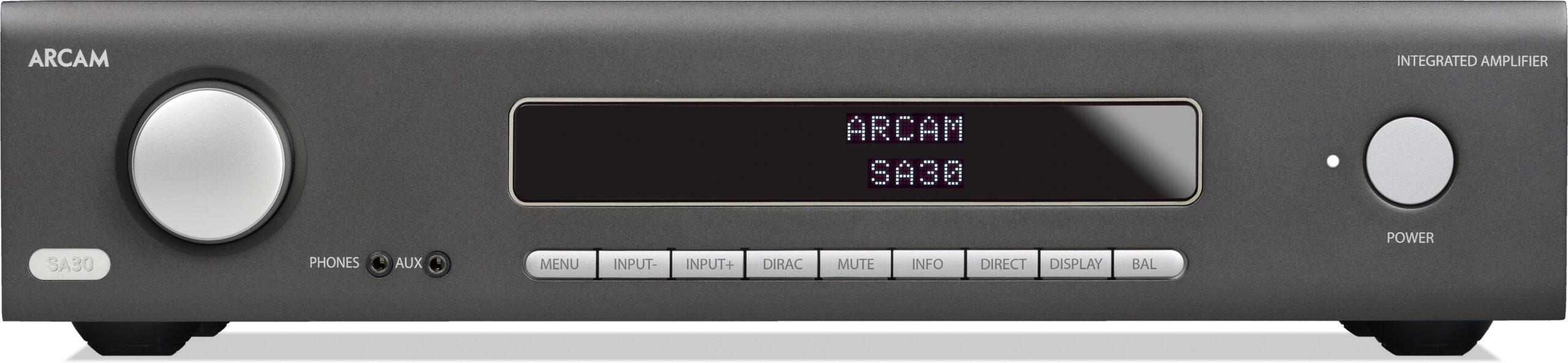 Arcam SA30 erősítő előlap