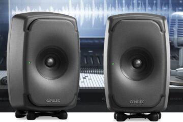 GENELEC-8331A-stúdió monitor tesztelés