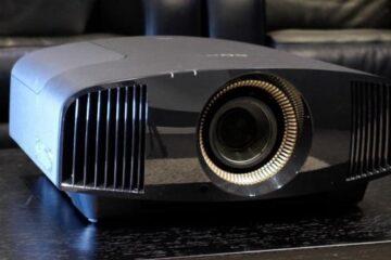 SONY-VPL-VW570ES projektor tesztelése