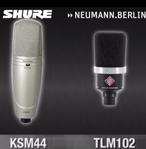 shure vagy neumann mikrofonok