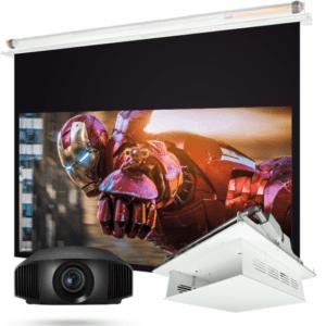 sony vpl vw570es projektor vásznon