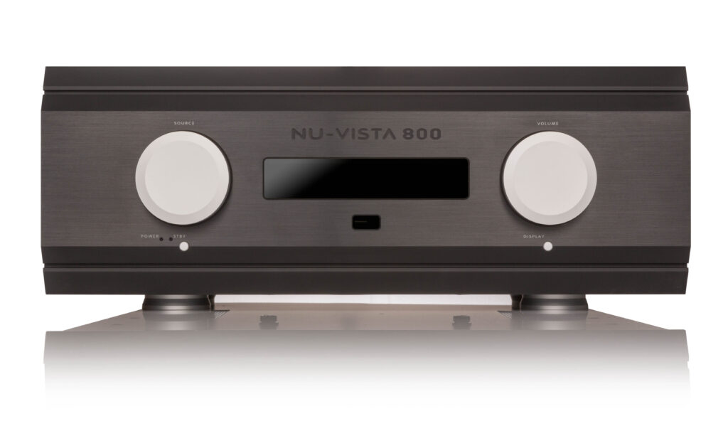 Musical Fidelity Nu_Vista_800 erősítő-fekete