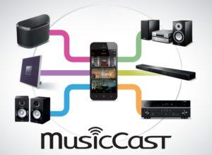 MusicCast alkalmazás