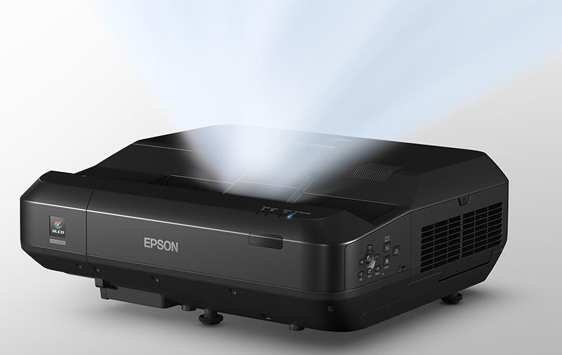 EH-LS100 projektor vetít