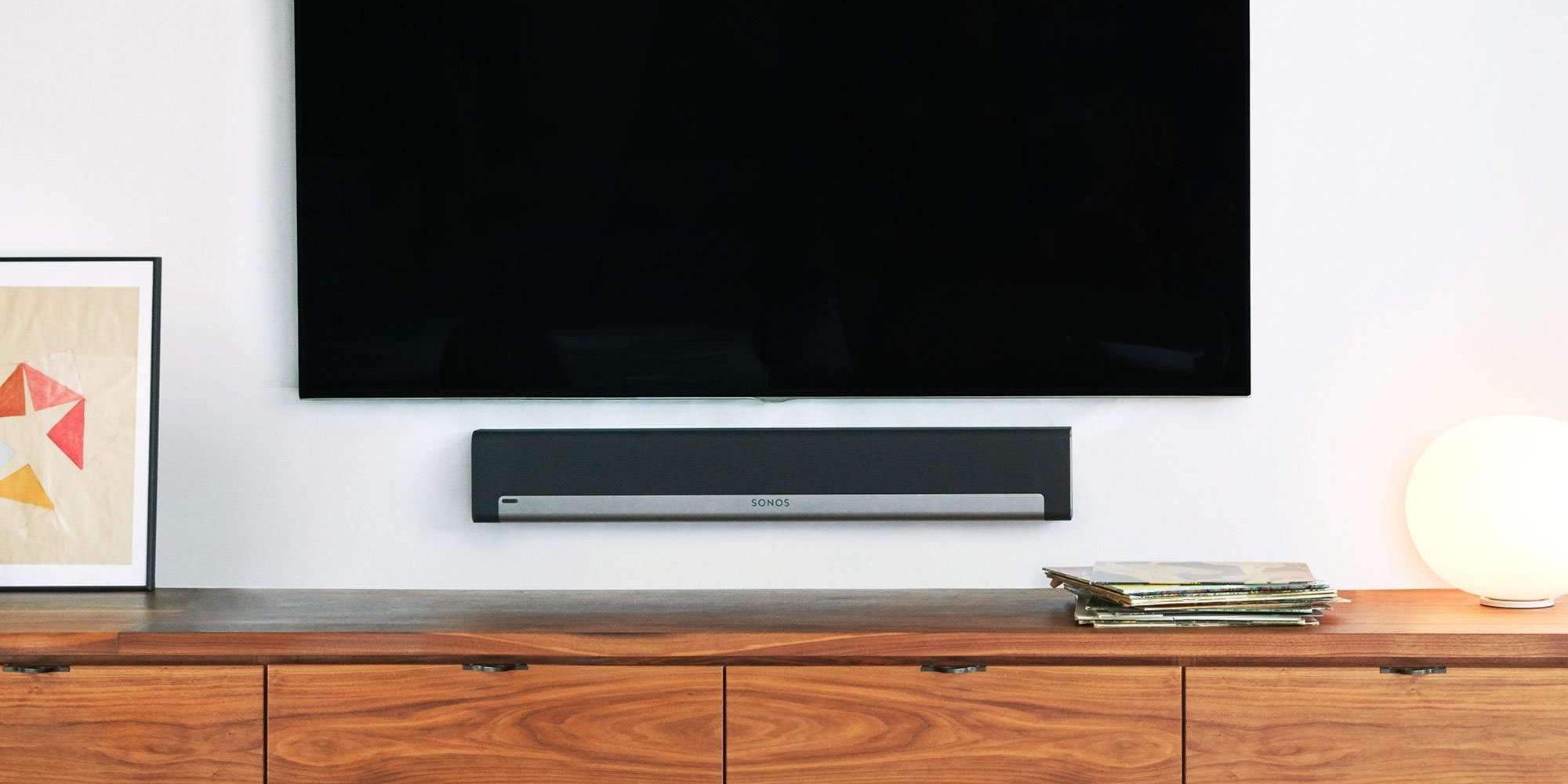 Playbar hangprojektor-tévével