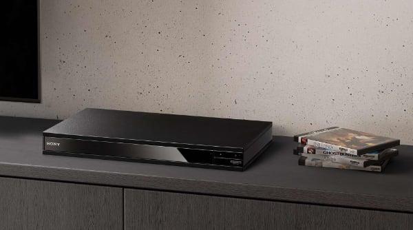 Sony X800M2 lejátszó fő kép