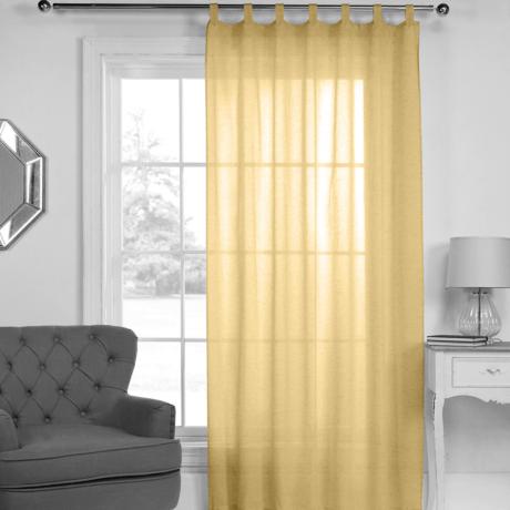 fényáteresztő voile modern függöny