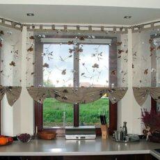 Konyhai függönyök - függöny konyhába
