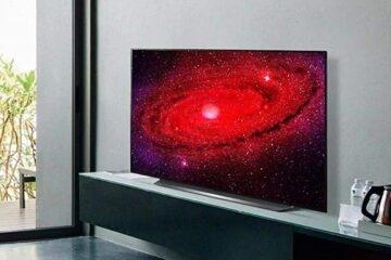 LG CX OLED TV fő kép 2.