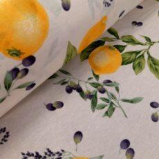 loneta citrom-oliva-40