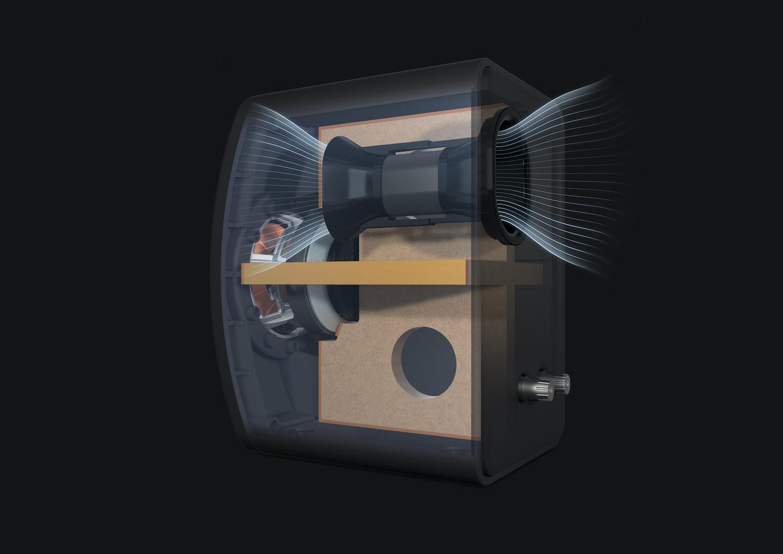 Meta hangszóró-belső