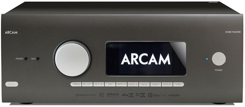 Arcam AV40-processzor-tesztelés