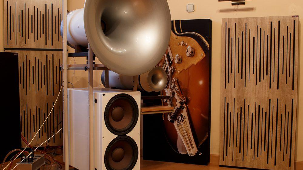 diffúzoros akusztikai panel
