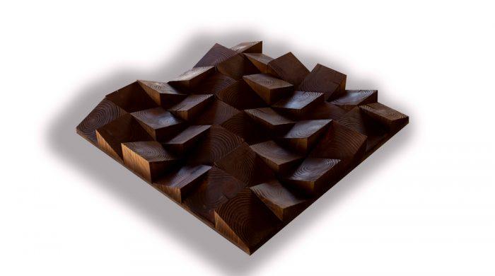 Ferde kocka akusztikai diffúzor