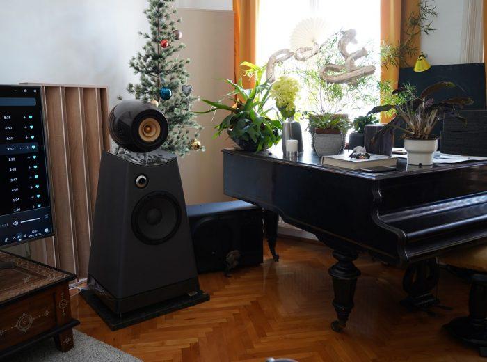 sarokelem, hangelnyelő panel Bodor audio-nál